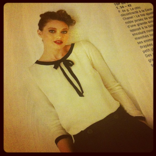 Projet couture de la semaine - le modèle - Les lubies de louise