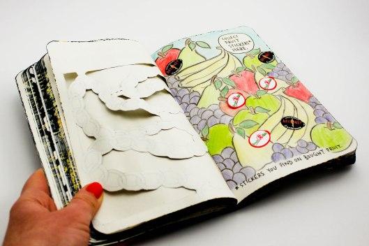 wreck this journal - les lubies de louise (4 sur 4)