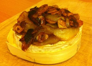 recette camembert rôti aux poires et aux amandes - les lubies de louise (4 sur 4)