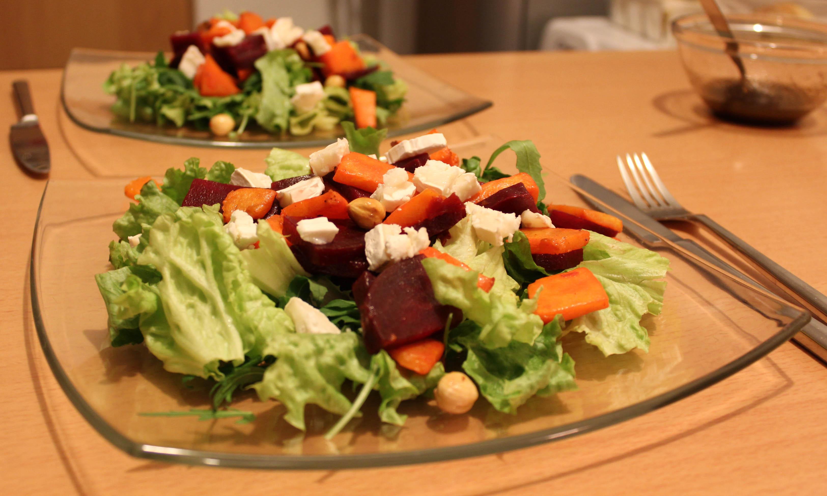 Une salade d hiver d licieuse recette les lubies de louise - Variete de salade d hiver ...
