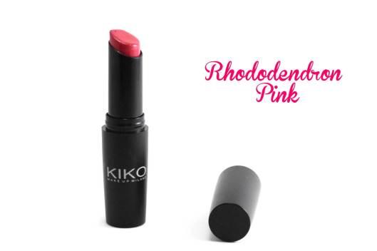 rouge à lèvre kiko 815 titre - les lubies de louise (1 sur 1)