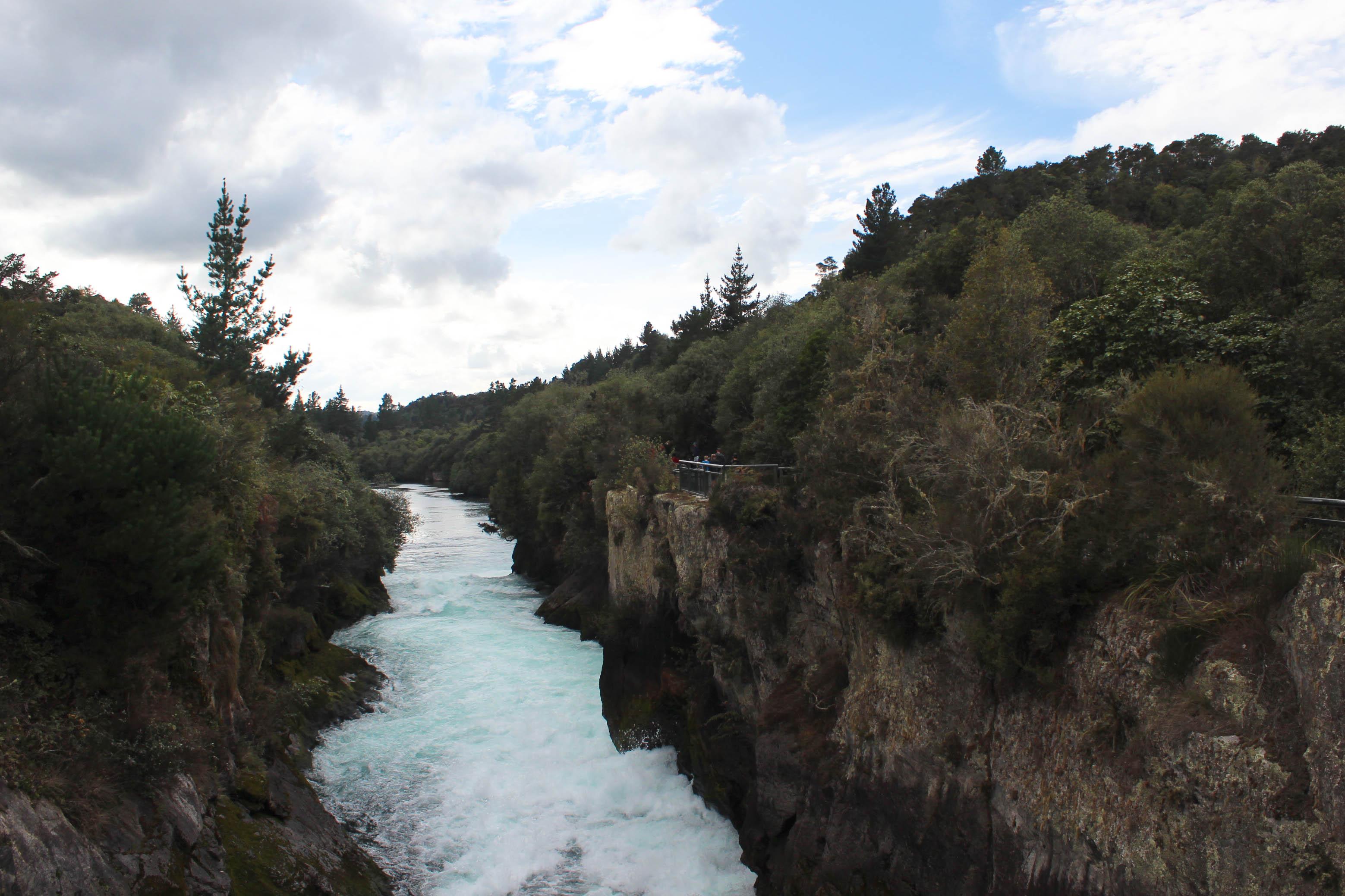 Nouvelle Zélande - Huka falls et lac taupo - Les lubies de louise (3 sur 18)