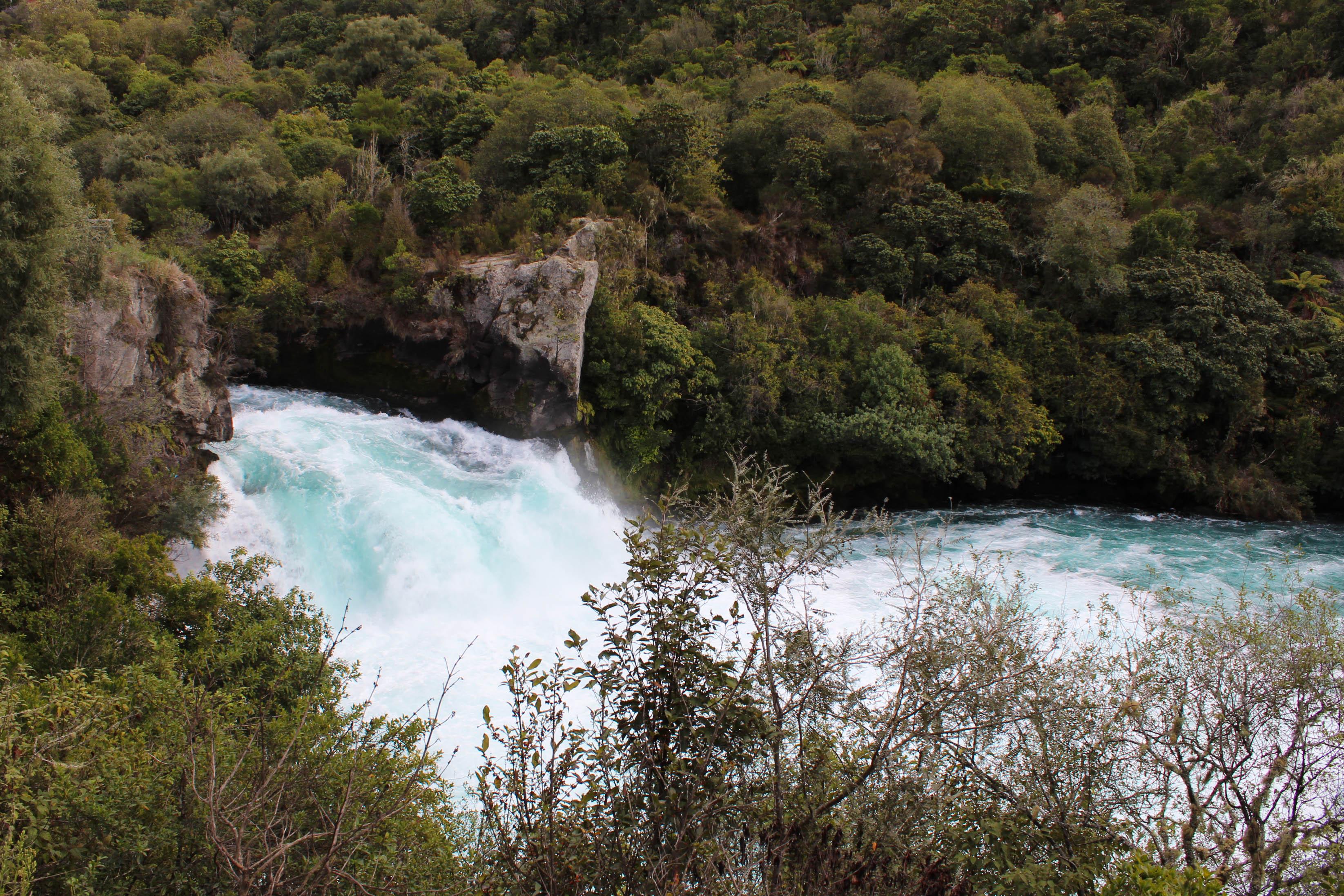 Nouvelle Zélande - Huka falls et lac taupo - Les lubies de louise (4 sur 18)