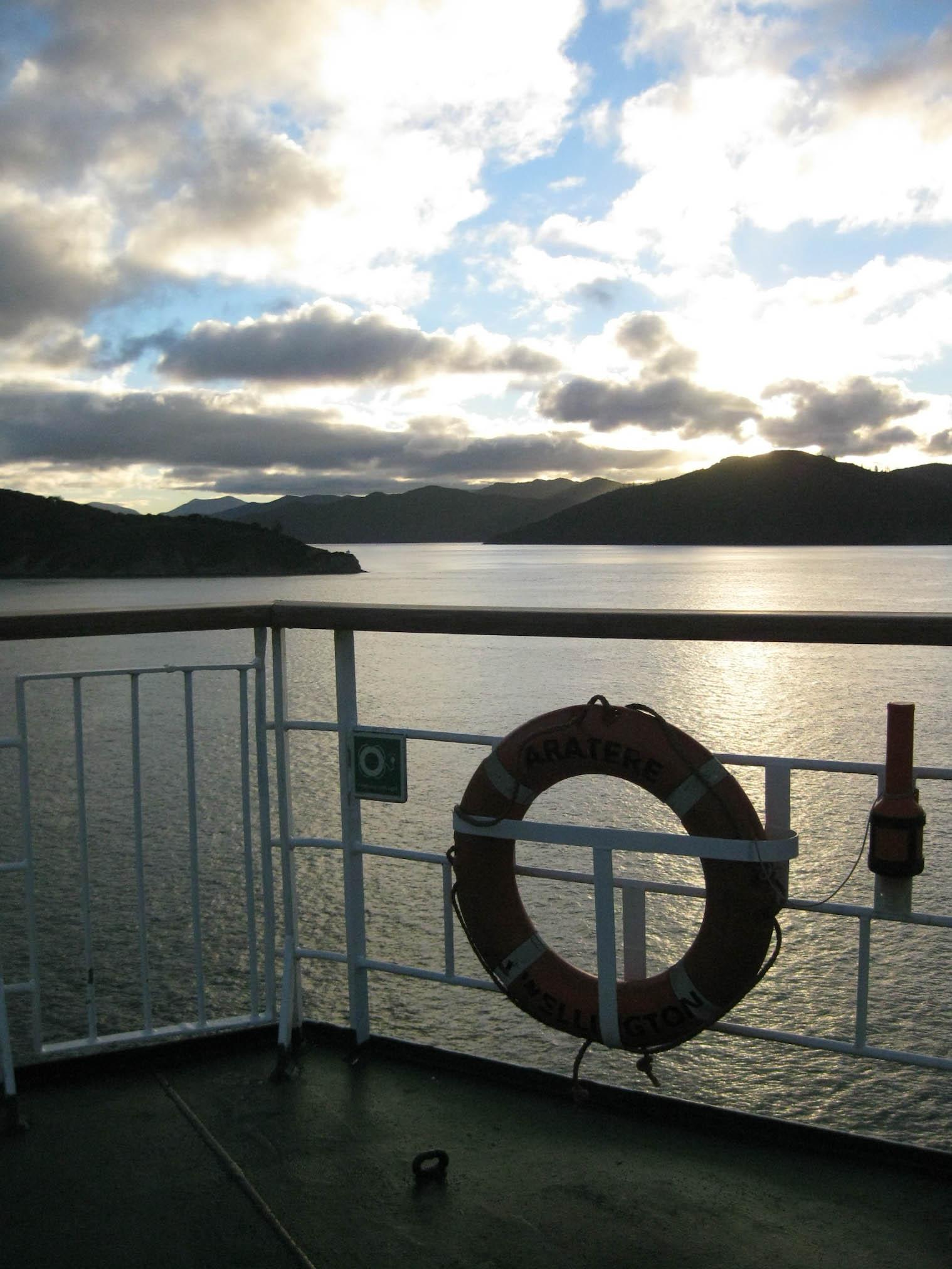 Nouvelle zélande - traversée ferry - les lubies de Louise (6 sur 10)