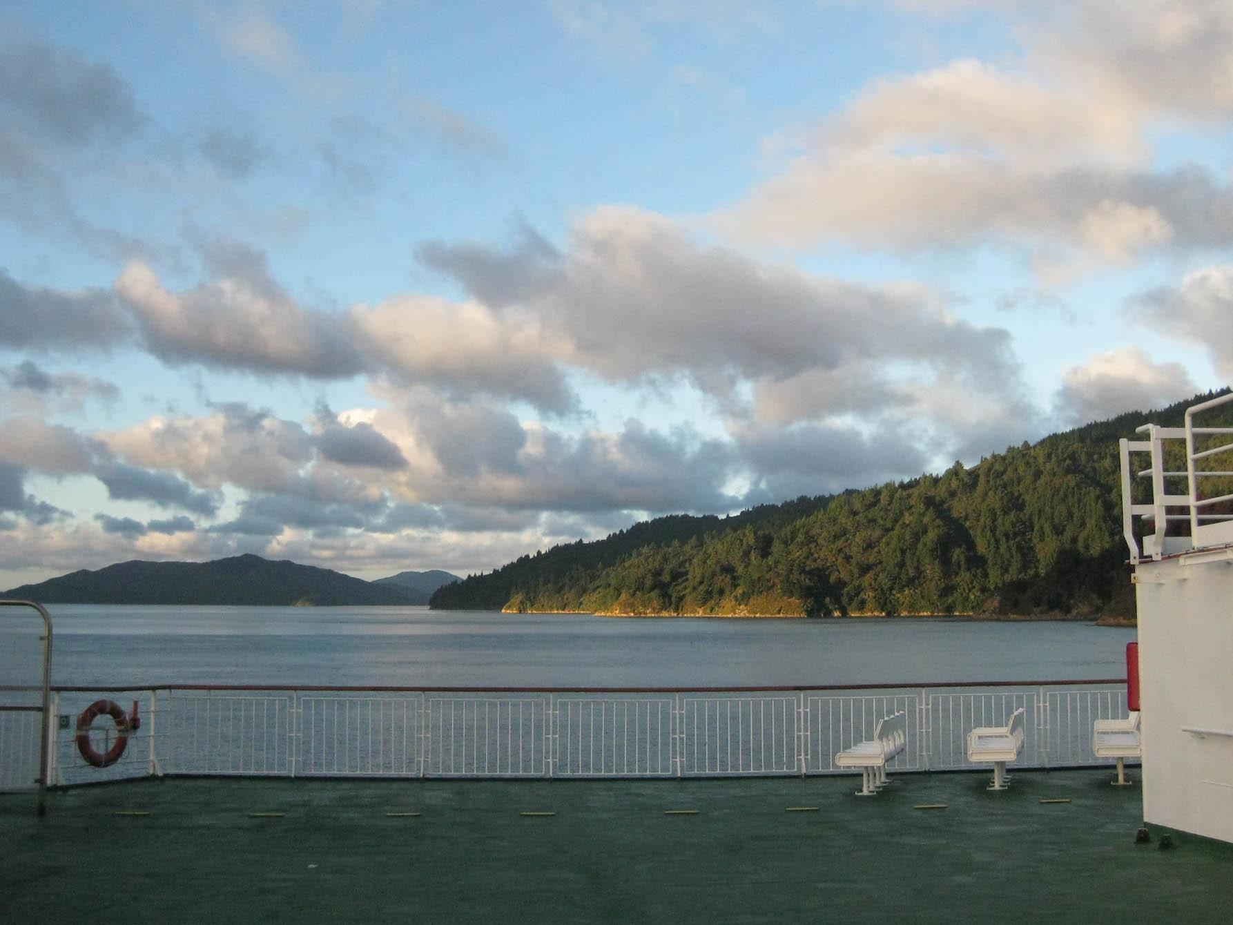 Nouvelle zélande - traversée ferry - les lubies de Louise (7 sur 10)