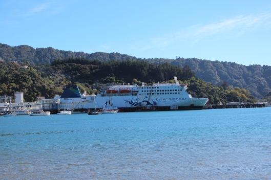 Nouvelle Zélande - traversée ferry - les lubies de louise (interislander)