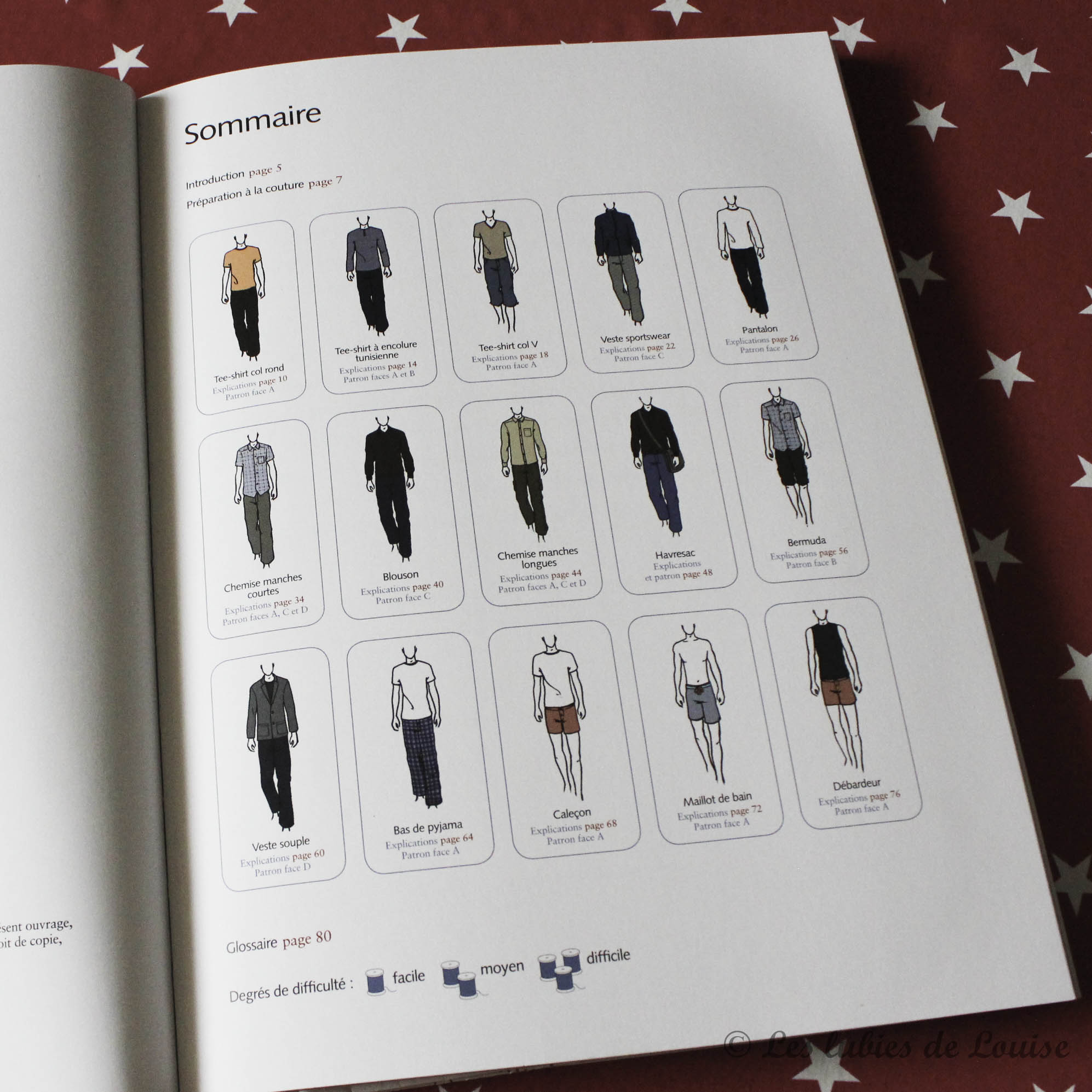 Livre couture casual wear - les lubies de Louise (2 sur 2)
