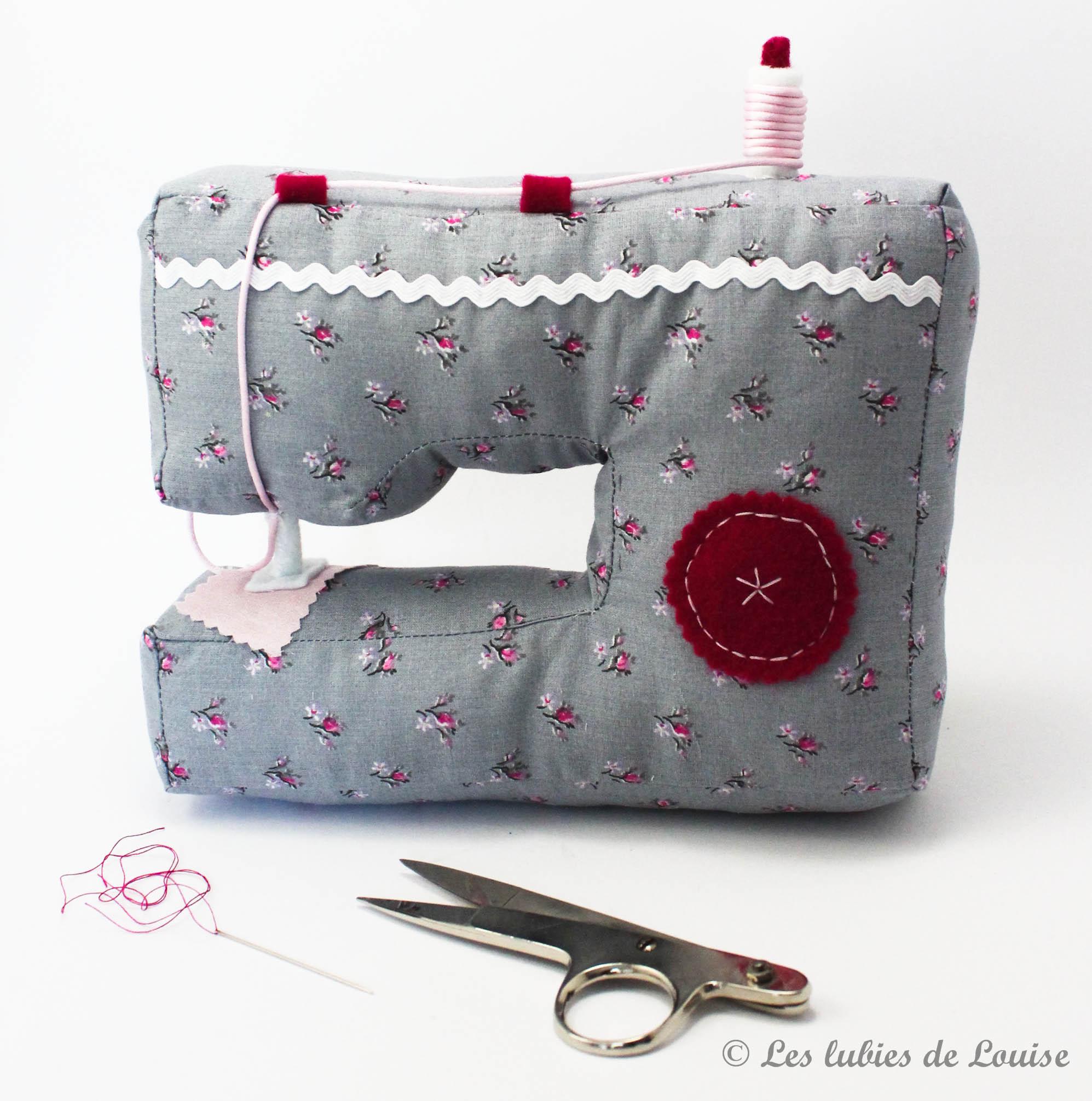 Machine à coudre en tissu - les lubies de Louise (2 sur 3)