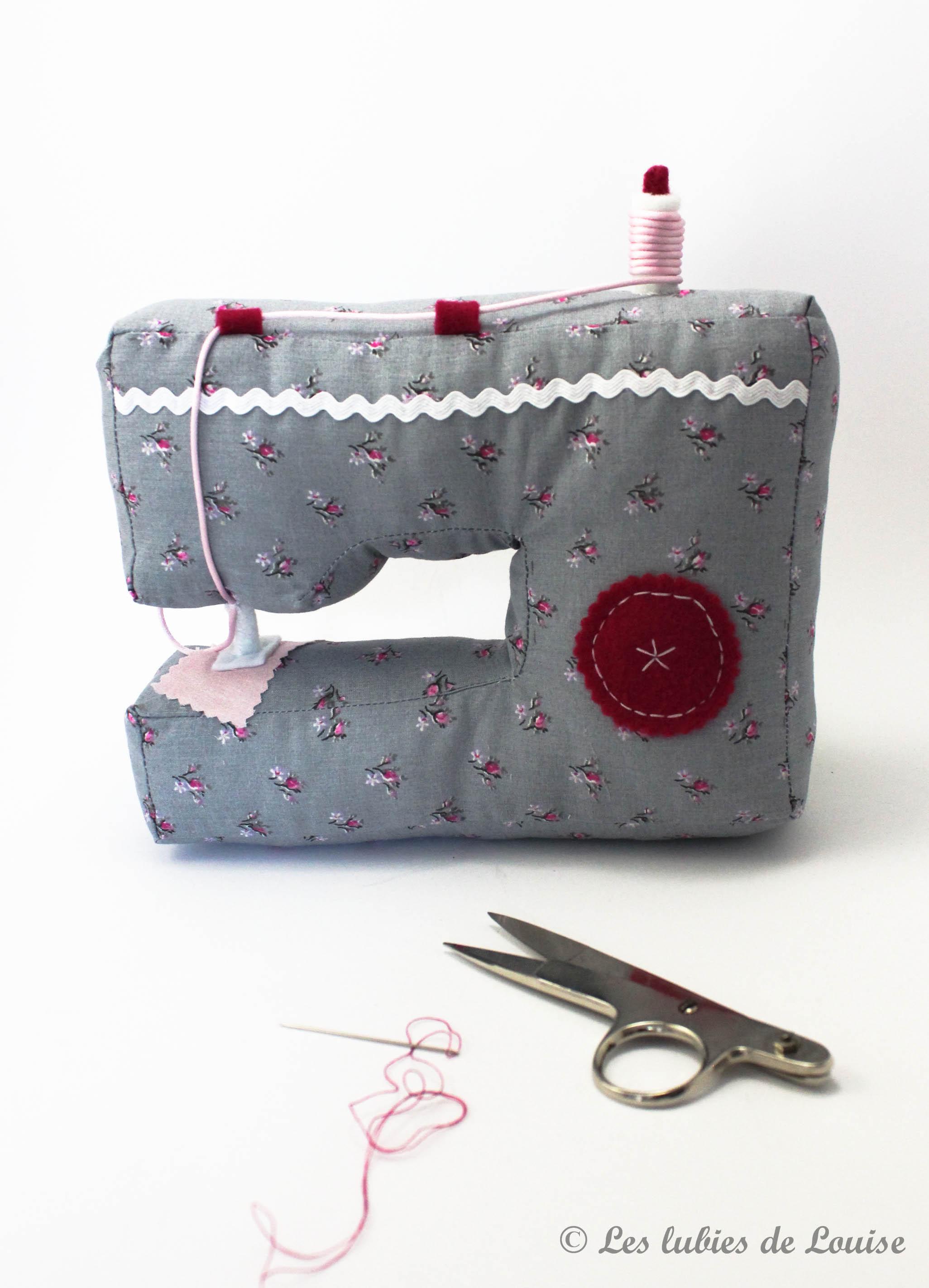 Machine à coudre en tissu - les lubies de Louise (3 sur 3)