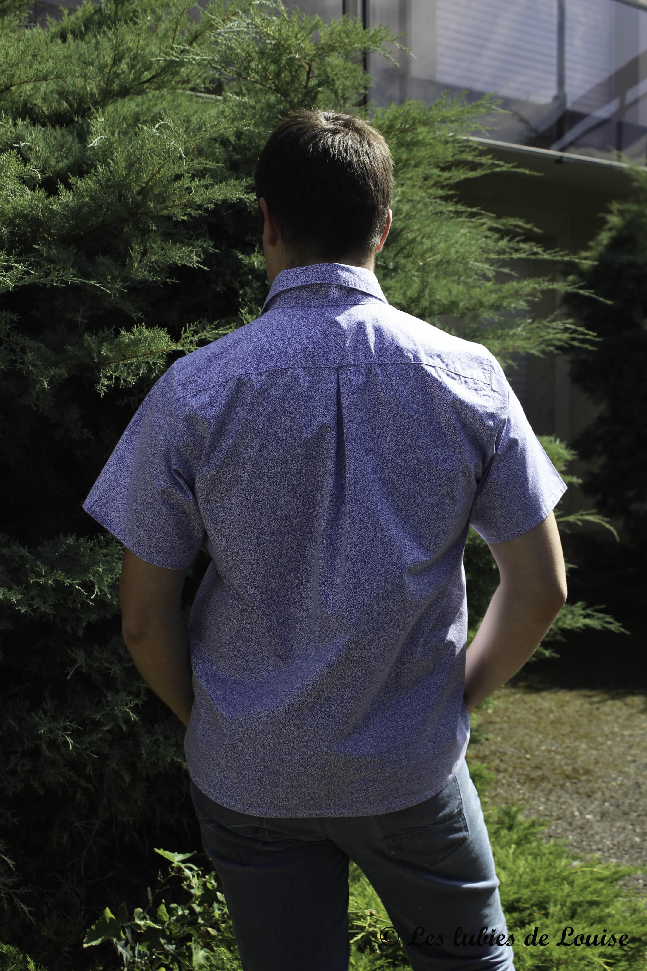 Première chemise d'homme - Les lubies de Louise (4 sur 6)