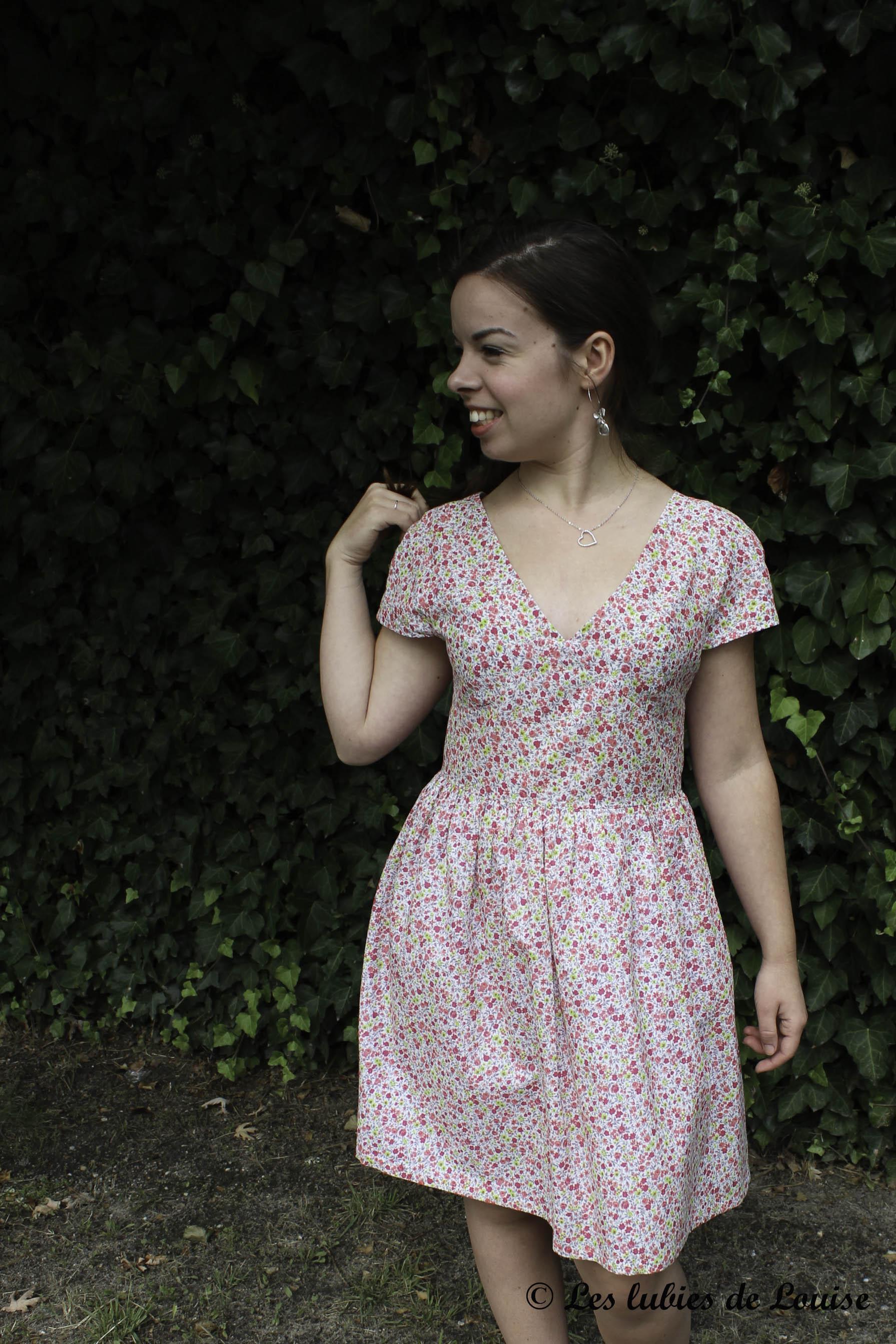 Robe d'anniversaire burda 05-2013 robe 125 - Les lubies de Louise (6 sur 8)