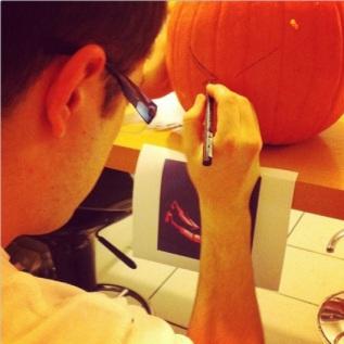 2013-10-28- citrouille halloween - les lubies de louise (dessin)