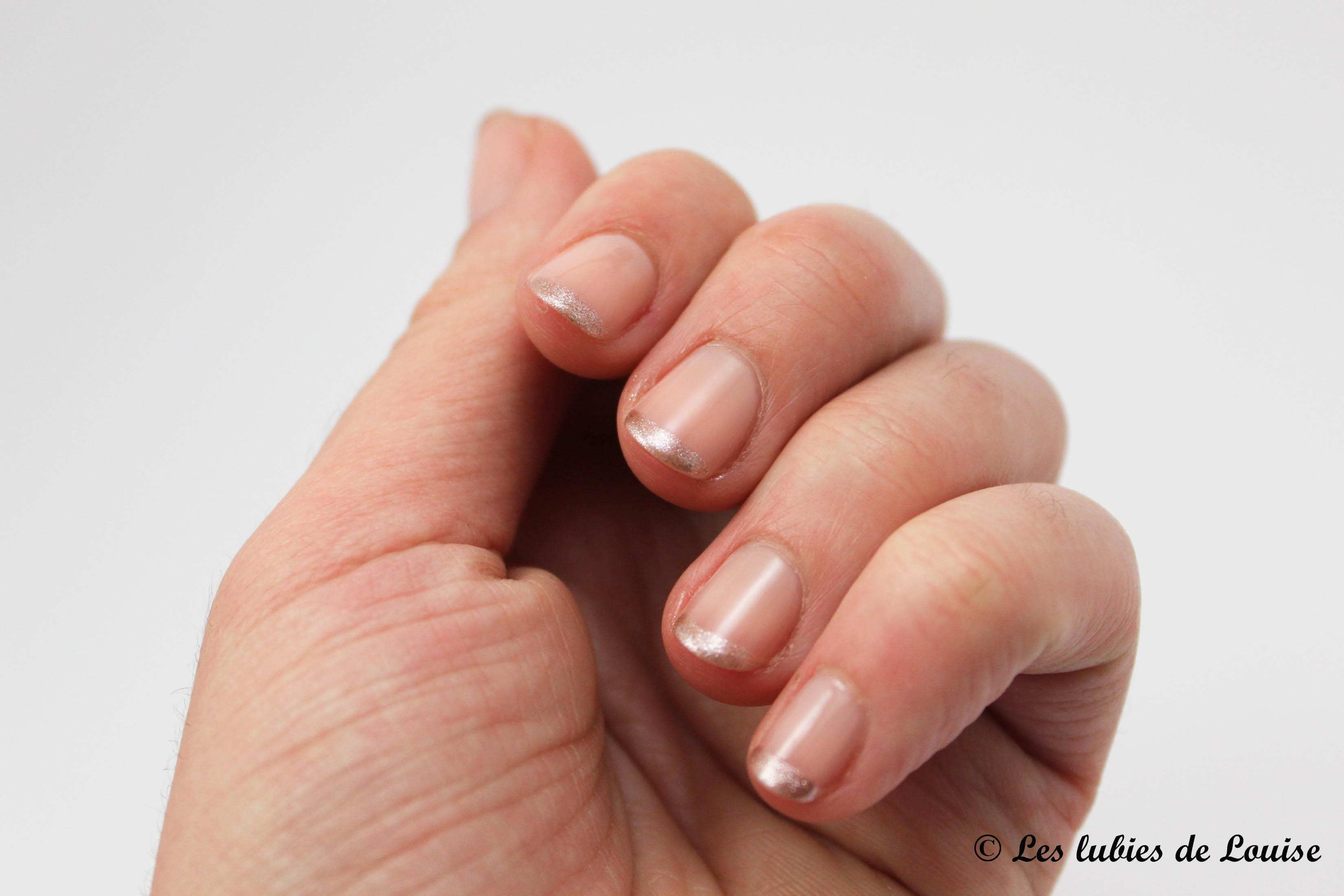 french manucure nude - Les lubies de Louise (5 sur 5)