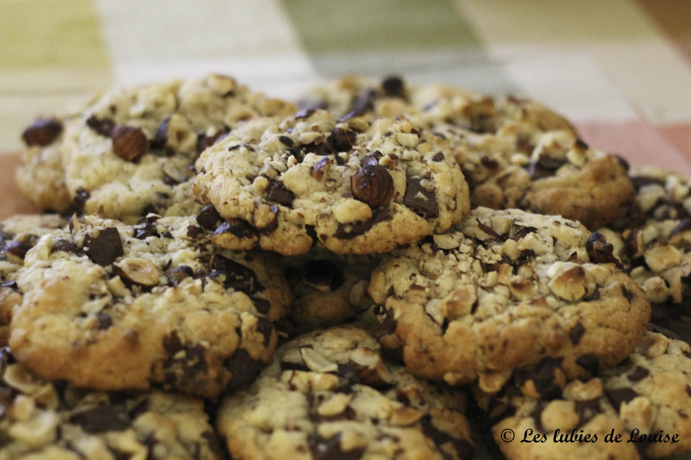 recette cookies chocolat noisettes - Les lubies de Louise (4 sur 5)