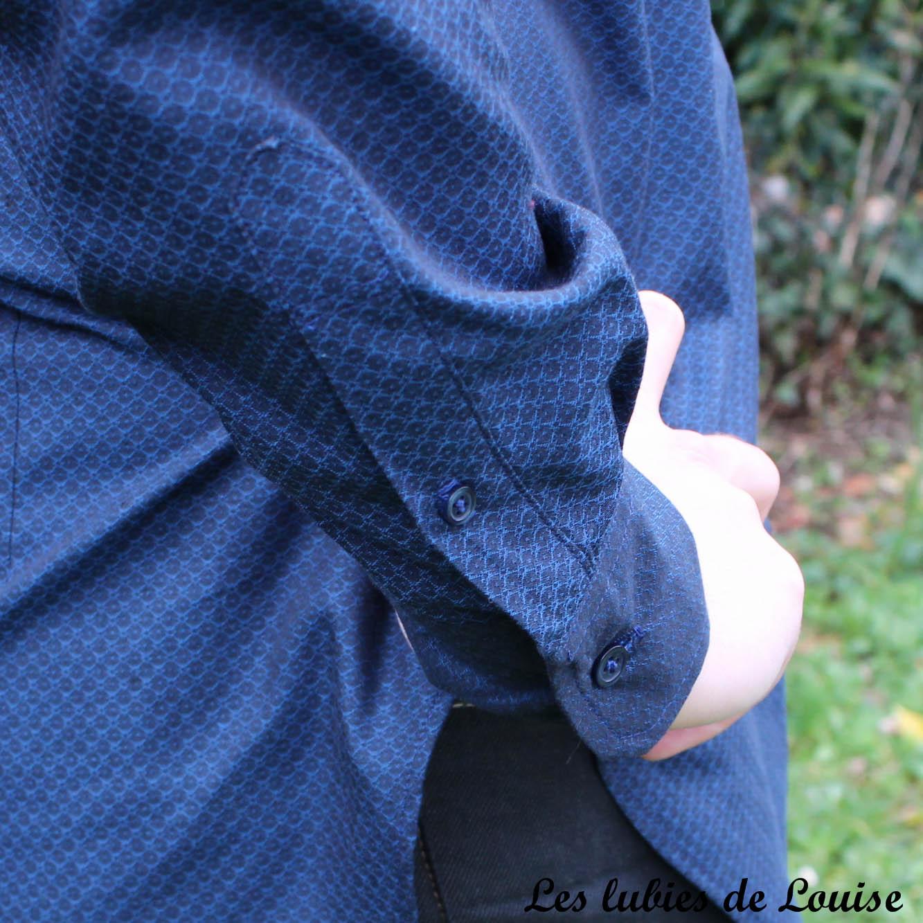 Chemise homme manches longues- les lubies de Louise-14