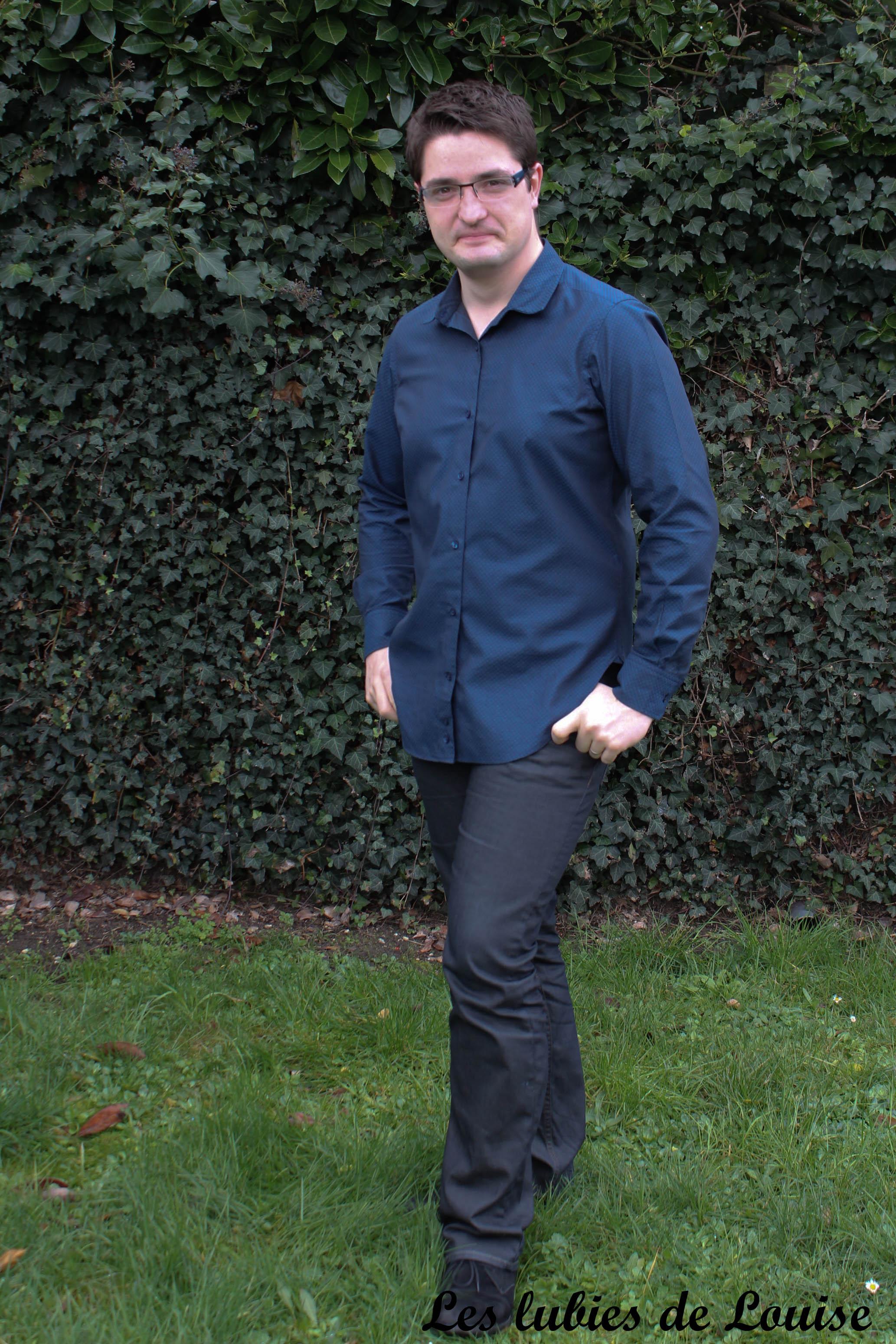 Chemise homme manches longues- les lubies de Louise-8