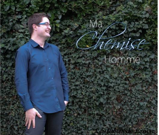 Chemise homme manches longues titre- les lubies de Louise-10